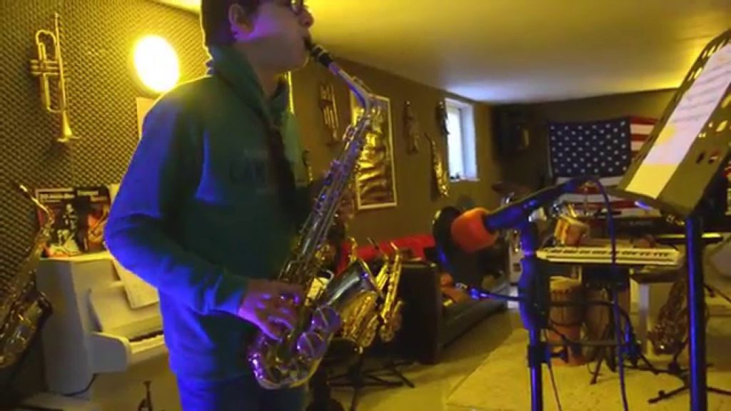 Saxophonunterricht 2017 / Einblicke in meinen Unterricht