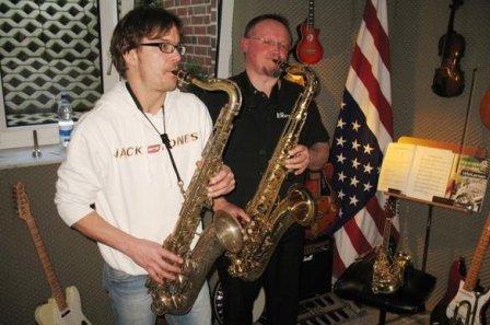 Jan Gryz Saxophonlehrer- Solo Saxophonist Münster